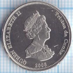 Moneda > 10peniques, 2008 - Tristán de Acuña  (cangrejo) - obverse