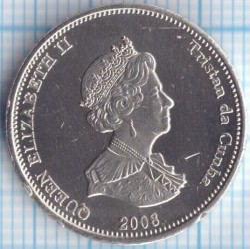 Moneda > 10peniques, 2008 - Tristán de Acuña  (cangrejo) - reverse