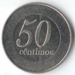 Moeda > 50cêntimos, 2012 - Angola  - reverse