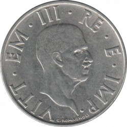العملة > 2ليرة, 1939-1943 - إيطاليا  - obverse