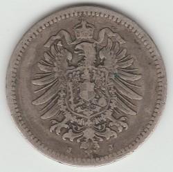 Moneda > 50peniques, 1875-1877 - Alemania  - obverse