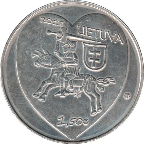 1½ Euro 2017 Kaziuko Mugė Litauen Münzen Wert Ucoinnet