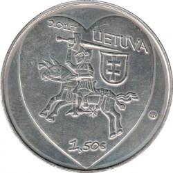 Coin > 1½euro, 2017 - Lithuania  (Traditional Lithuanian Celebrations - Kaziuko Mugė) - obverse