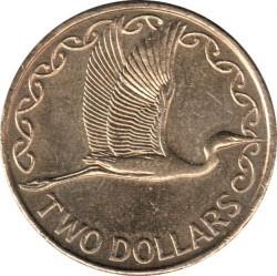 Монета > 2доллара, 1999-2019 - Новая Зеландия  - reverse