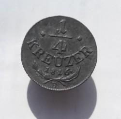 Monedă > ¼сreițar, 1816 - Austria  - obverse