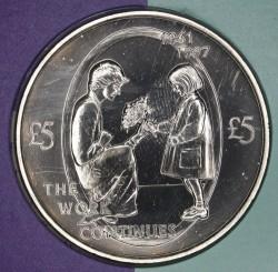 العملة > 5جنية, 2002 - آلدرني  (5th Anniversary - Death of Princess Diana) - reverse