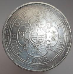 Mynt > 1dollar, 1866-1868 - Hong Kong  - reverse