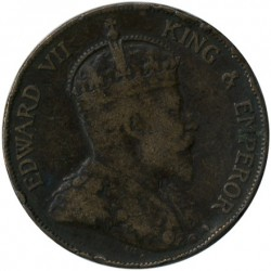 Монета > 1цент, 1902-1905 - Гонконг  - obverse