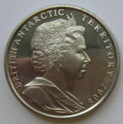 Minca > 2pounds, 2008 - Britské Antarktické Teritórium  (100th Anniversary - Granting Letters Patent) - obverse