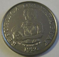 Munt > 5guaranies, 1986 - Paraguay  - obverse