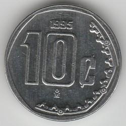 Moneta > 10centavos, 1995 - Messico  - reverse