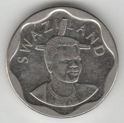 Moneta > 20centów, 2011 - Suazi  (Średnica 18.5 mm) - obverse