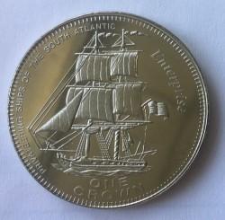 Moneta > 1korona, 2006 - Tristan da Cunha  (Pirackie okręty Południowego Atlantyku - Enterprise) - reverse