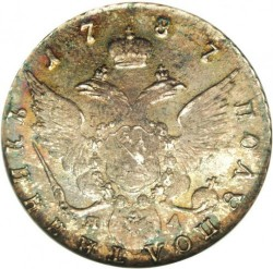 Moneda > 1polupoltinnik, 1779-1796 - Rússia  - reverse