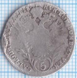 Moneda > 5kreuzer, 1817-1824 - Àustria  - reverse