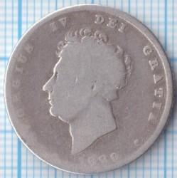 Moneta > 1scellino, 1829 - Regno Unito  - obverse