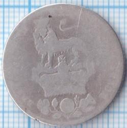 Moneta > 1scellino, 1829 - Regno Unito  - reverse