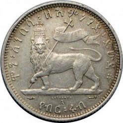 Moneta > ¼birr, 1895-1903 - Etiopia  - reverse