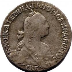 Moneda > 1grivennik, 1764-1776 - Rússia  - obverse