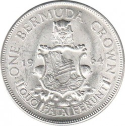 سکه > 1کرون, 1964 - برمودا  - reverse