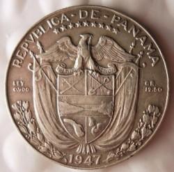 מטבע > ½בלבואה, 1930-1947 - פנמה  - reverse