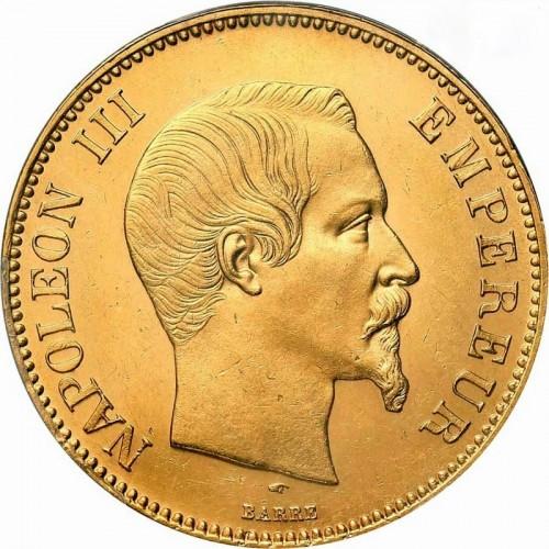 100 Franken 1855 1860 Frankreich Münzen Wert Ucoinnet