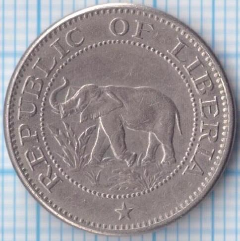 5 Cents 1960 1984 Liberia Coin Value