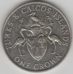 Moneta > 1corona, 1986 - Turks e Caicos (Isole)  - reverse