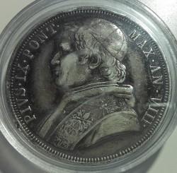 Moneta > 1scudo, 1846-1854 - Państwo Kościelne  - obverse