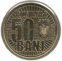 Moneta > 50banių, 2015 - Rumunija  (10th Anniversary - Denomination Currency) - obverse