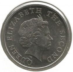 سکه > 25سنت, 2010-2016 - کاراییب شرقی  - obverse
