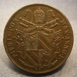 Монета > 1байокко, 1846-1848 - Папська область  - obverse