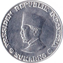 Moneda > 1sen, 1962 - Indonèsia  - obverse