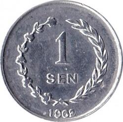 Moneda > 1sen, 1962 - Indonèsia  - reverse