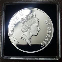 Moneta > 5funtów, 1995 - Alderney  (95 rocznica urodzin - Królowa Matka ) - obverse