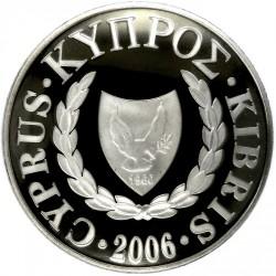 Монета > 1фунт, 2006 - Кипр  (Дикая природа Кипра - Centaurea Akamantis) - obverse