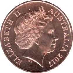 Moneda > 1centavo, 2017 - Australia  (Possum Magic) - obverse