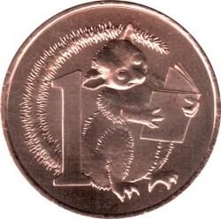 Moneda > 1centavo, 2017 - Australia  (Possum Magic) - reverse