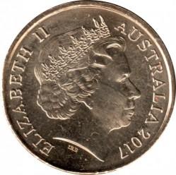 Монета > 2доллара, 2017 - Австралия  (Волшебный опоссум - Счастливый Хаш) - obverse