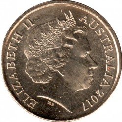 Moneta > 2dollari, 2017 - Australia  (Possum Magic - Happy Hush) - obverse