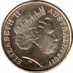 Moneta > 2dollari, 2017 - Australia  (Possum Magic - Hush Can See Her Tail Again) - obverse