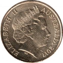 Монета > 2долара, 2017 - Австралія  (Ми не забудемо) - obverse