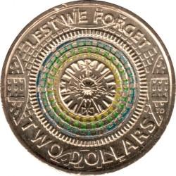 Moneda > 2dólares, 2017 - Australia  (No Lo Olvidemos) - reverse