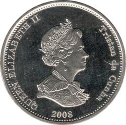 Moneta > 1korona, 2008 - Tristan da Cunha  (Kaszaloty) - obverse