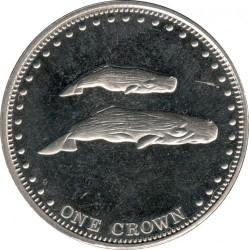 Moneta > 1korona, 2008 - Tristan da Cunha  (Kaszaloty) - reverse