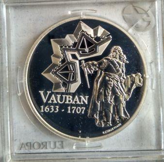 1½ Euro 2007 Sébastien Le Prestre De Vauban Frankreich Münzen