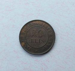 Moneda > 20réis, 1889-1912 - Brasil  - obverse