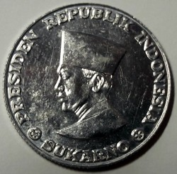 Moneda > 50 sen, 1962 - Indonesia  - obverse