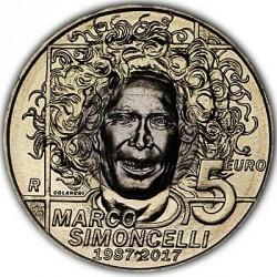 Moneda > 5euros, 2017 - San Marino  (30 aniversario - Nacimiento de Marco Simoncelli) - reverse