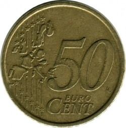 Монета > 50евроцента, 2002-2007 - Португалия  - obverse